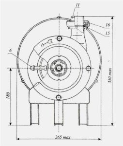 Конструкція насоса Я9-ОНЦ-5
